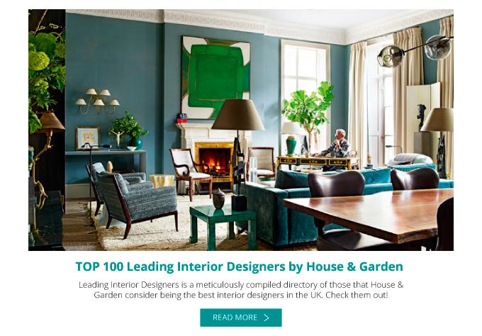 Best interior designers top 100 leading interior for Top 100 interior designers