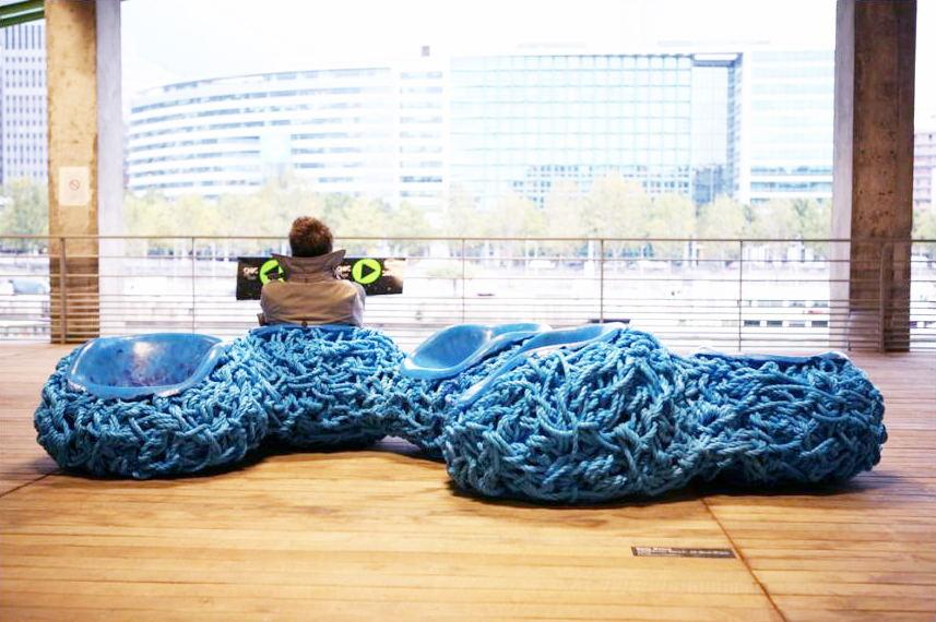 """Tom Price - Interior Designer Interviews - Best Interior Designers""  Tom Price Blue Cable Rope chairs Tom Price plusMOOD 3"