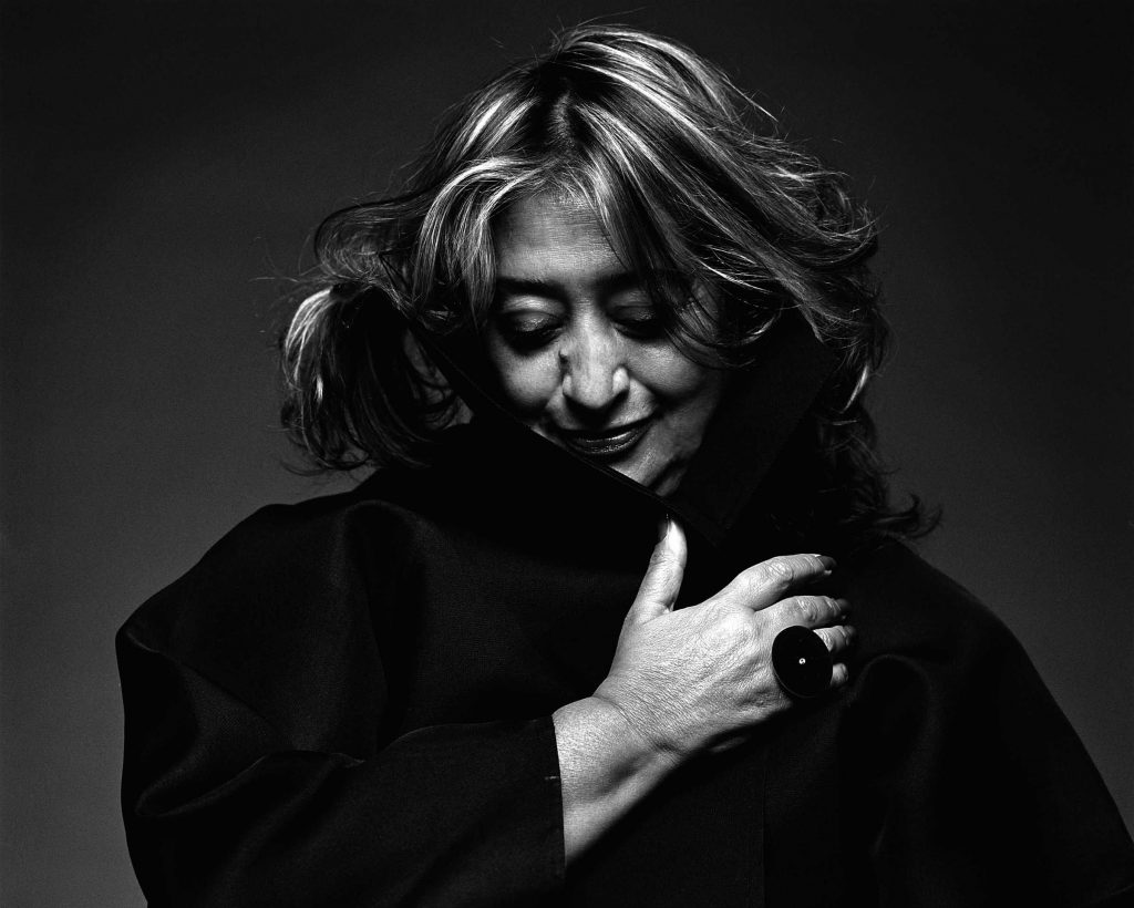"""First women to win the Pritzer Prize, Zaha Hadid is recognized worldwide by her distinctive and innovative architecture. Born in Iraq, the London based architectural designer creates powerful buildings easily recognizable by their fluid forms."" Zaha Hadid Learn More About Zaha Hadid zaha pic 4 1024x820"