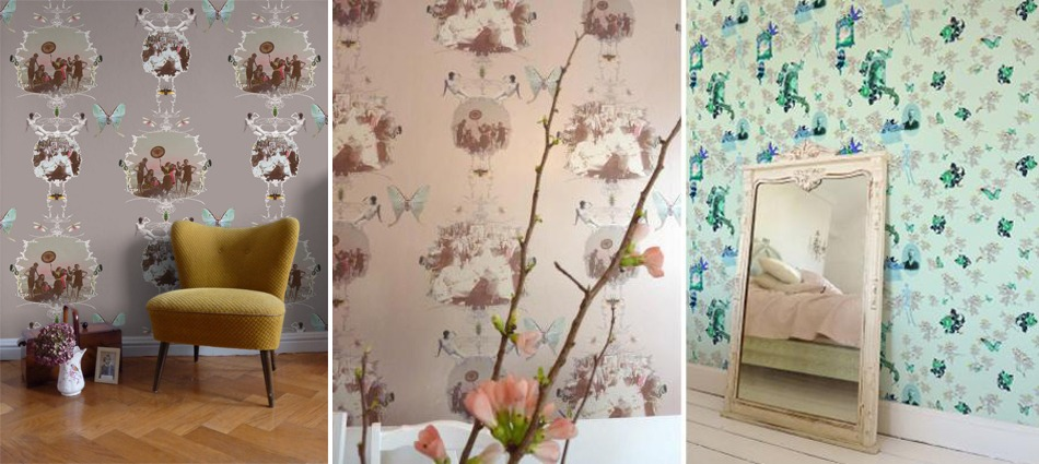 """""""In 2007, Elli Popp started to take its place in the design world, creating customised wall surface designs, with a neo-romantic inspiration."""""""