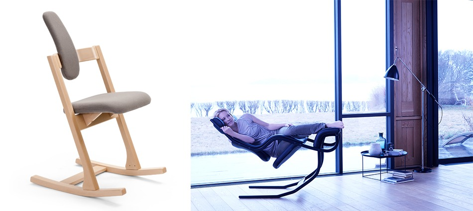 """Varier, a top norwegian furniture brand, has a major concern in combining the aesthetically pleasing with the ergonomics of its pieces.""  Top ICFF 2013 Brands – Variér varier2"