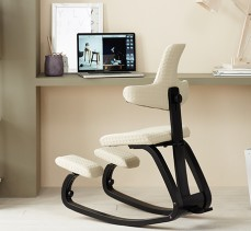 """""""Varier, a top norwegian furniture brand, has a major concern in combining the aesthetically pleasing with the ergonomics of its pieces."""""""