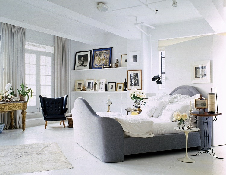 Best Interior Designers: Vicente Wolf's bedroom