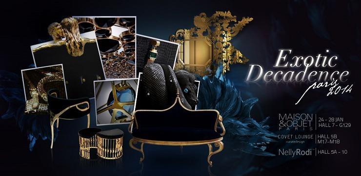 """""""Top furniture brands at Maison&Objet - Paris 2014""""  The brands to watch at Maison & Objet – Paris 2014 exotic decadence at maison et objet"""