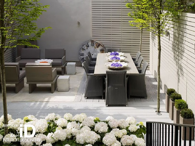 Kelly Hoppen home roof terrace kelly hoppen Best Interior Designers | Kelly Hoppen kelly hoppen london home garden