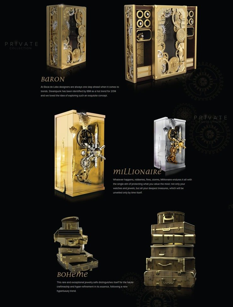 Boca do Lobo | Private Collection  Top Furniture brands: Milan design week 2014 boca do lobo private collection1