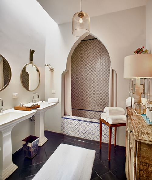 L'Otel San Miguel de Allende  BEST INTERIOR DESIGNER: ROY AZAR lotel san miguel allende bathroom roy azar