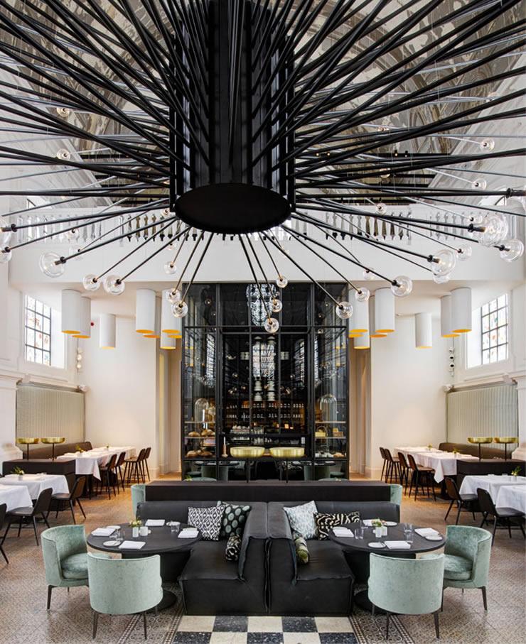 RESTAURANT 'THE JANE' ANTWERP by PIET BOON piet boon Best Interior Designers: Piet Boon Studio 4 Piet Boon The Jane Restaurant Antwerp