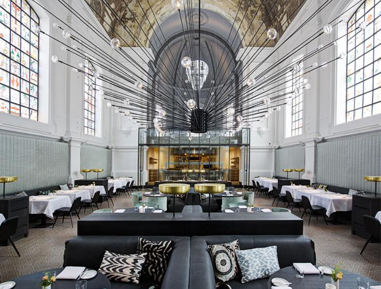 RESTAURANT 'THE JANE' ANTWERP by PIET BOON  BEST INTERIOR DESIGNERS: PIET BOON STUDIO 8 Piet Boon The Jane Restaurant Antwerp