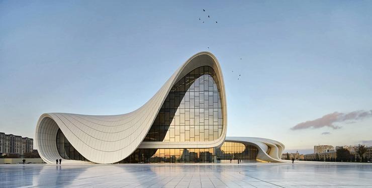 Heydar-Aliyev-Zaha-Hadid  Best architectural design of 2014: Zaha Hadid's Heydar Aliyev Centre Heydar Aliyev Zaha Hadid 1