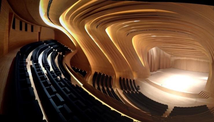 Heydar-Aliyev-Zaha-Hadid  Best architectural design of 2014: Zaha Hadid's Heydar Aliyev Centre Heydar Aliyev Zaha Hadid 2