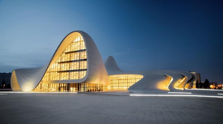 Heydar-Aliyev-Zaha-Hadid  Best architectural design of 2014: Zaha Hadid's Heydar Aliyev Centre Heydar Aliyev Zaha Hadid 4