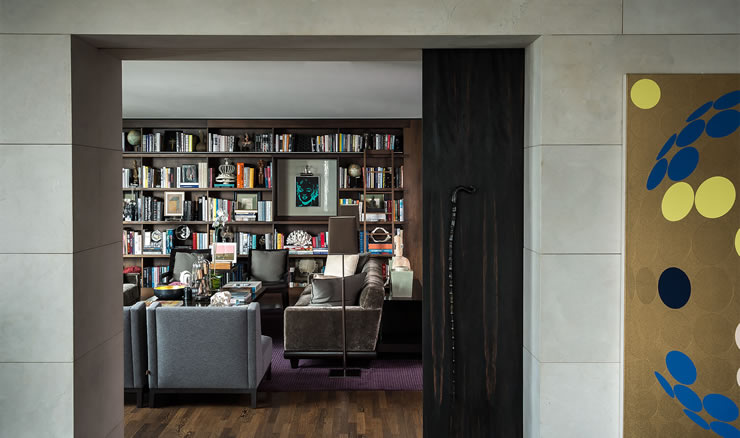 Library room by Gloria Cortina  INTERIOR DESIGN INTERVIEW: GLORIA CORTINA gloria cortina 4