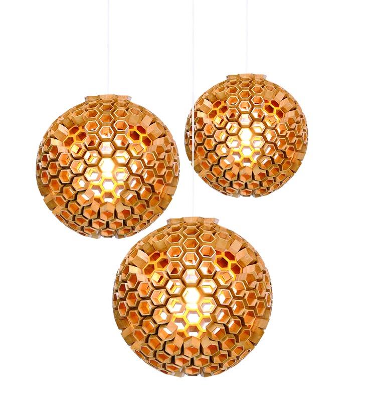 vitoselma_constella-hanging-lamps icff Best Design Brands at ICFF 2014 vitoselma constella hanging lamps1