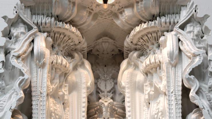 digital_grotesque_wall_3D_print   3D printed revolution  digital grotesque wall