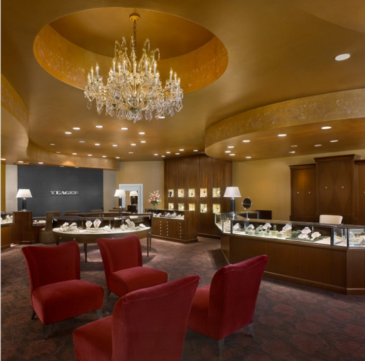 Yeager Jewelers  Best Interior Designers: Travis Abbott 3 finale