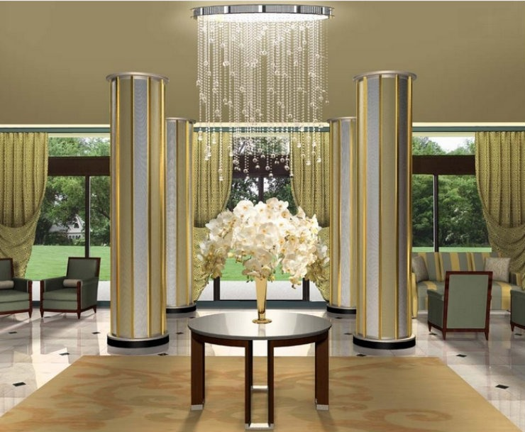 Residential High Rise Lobby  Best Interior Designers: Travis Abbott 4 finale