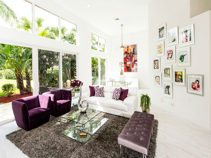Boca Raton Residence - Natalia H Interiors  Best Interior Designers: Natalia Huarcaya  Boca Raton Residence Natalia H Interiors