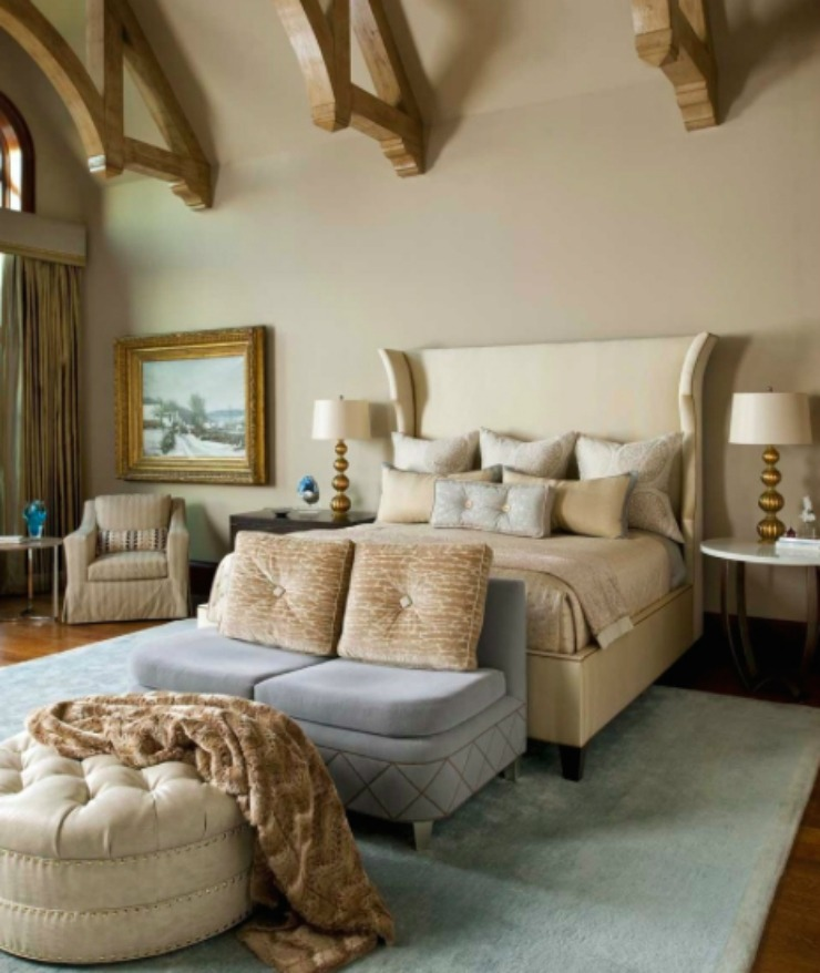 North dallas residence bedroom dallas design group interiors us best luxury country style home for Interior designers dallas texas