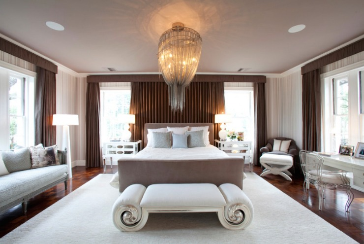 river oaks residence bedroom laura u texas interior texas interior designers and decorators houzz best - Houzz Bedroom Design
