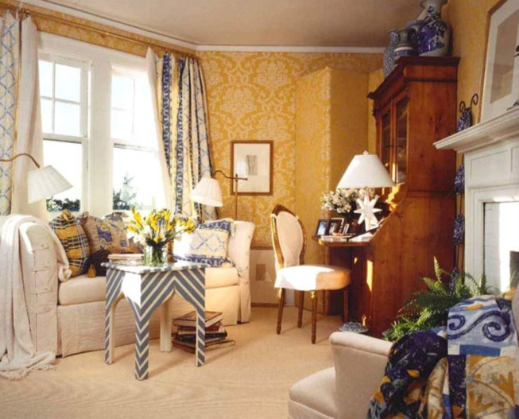 Southampton Study  Best Interior Designers: Gerald Charles Tolomeo Southampton Study