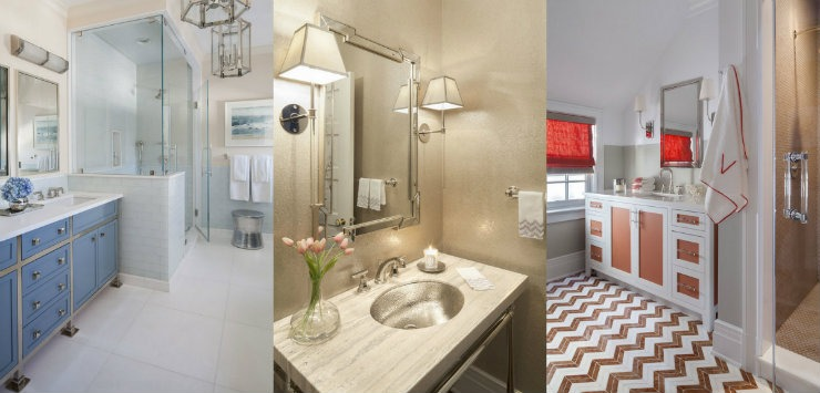 bathrooms  Best Interior Designers Texas: S.B. Long bathrooms