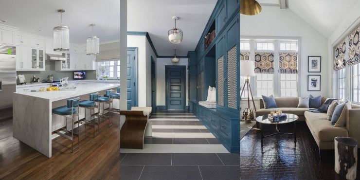 blue  Best Interior Designers Texas: S.B. Long blue