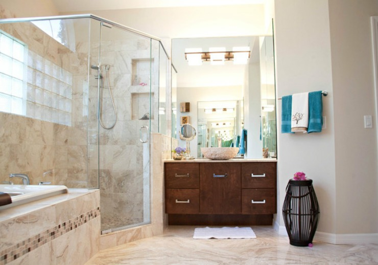 contemporary-bathroom Ashton  Best Interiors Designers: Sarah Cain contemporary bathroom Ashton