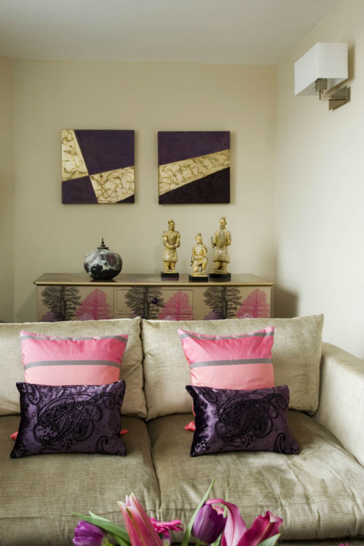 eclectic-living-room celia james  Best Interior Designer in UK - Celia James eclectic living room celia james