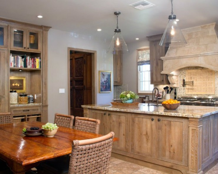 rustic-kitchen  BEST INTERIOR DESIGNERS: CHARMEAN NEITHART rustic kitchen