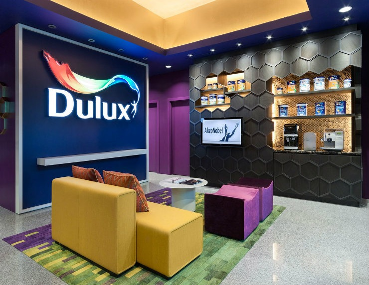 AkzoNobel & Dulux Commercial Office 1  Best Interior Designers | Cameron Woo AkzoNobel Dulux Commercial Office 1