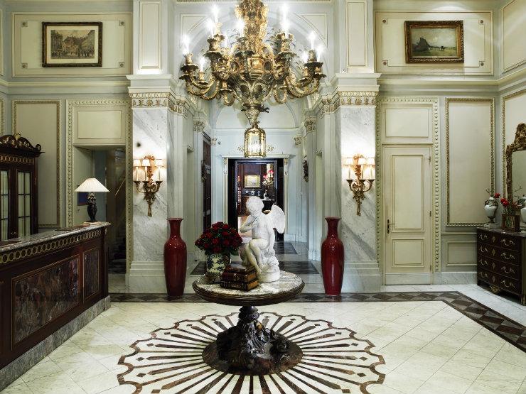 Entree Sacher  Best Interior Designers | Pierre Yves-Rochon Entree Sacher
