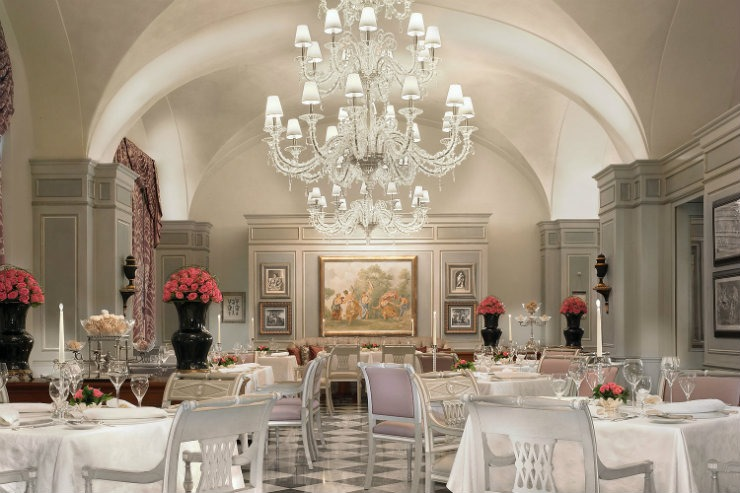 Four Seasons Firenze Restaurant  Best Interior Designers | Pierre Yves-Rochon Four Seasons Firenze Restaurant