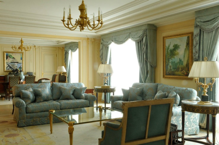 Four Seasons George V Room  Best Interior Designers | Pierre Yves-Rochon Four Seasons George V Room