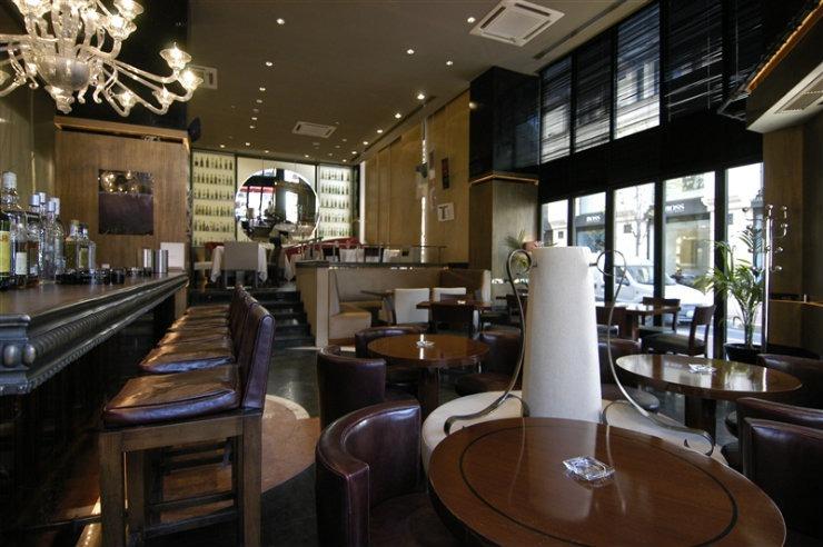 Nisantasi Brasserie  Best Interior Designers | Zeynep Fadıllıoglu Design Nisantasi Brasserie