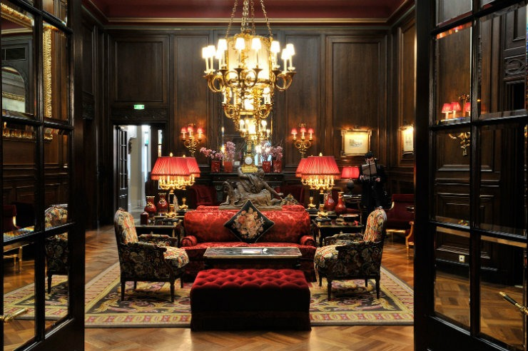 Room Sacher  Best Interior Designers | Pierre Yves-Rochon Room Sacher
