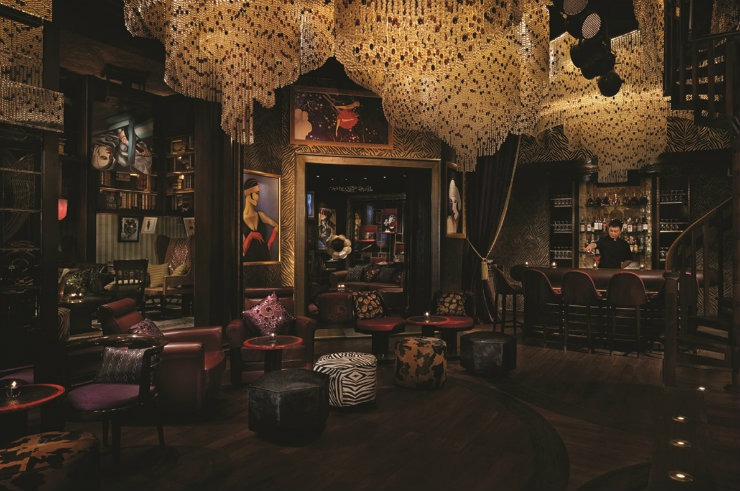 The Peninsula Shanghai Bar  Best Interior Designers | Pierre Yves-Rochon The Peninsula Shanghai Bar