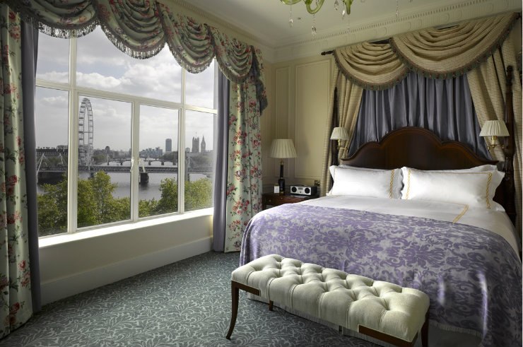 The Savoy Hotel in London Bedroom  Best Interior Designers | Pierre Yves-Rochon The Savoy Hotel in London Bedroom