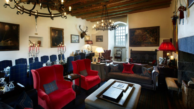 scottish castle  Best Interior Designers | Katharine Pooley scottish castle
