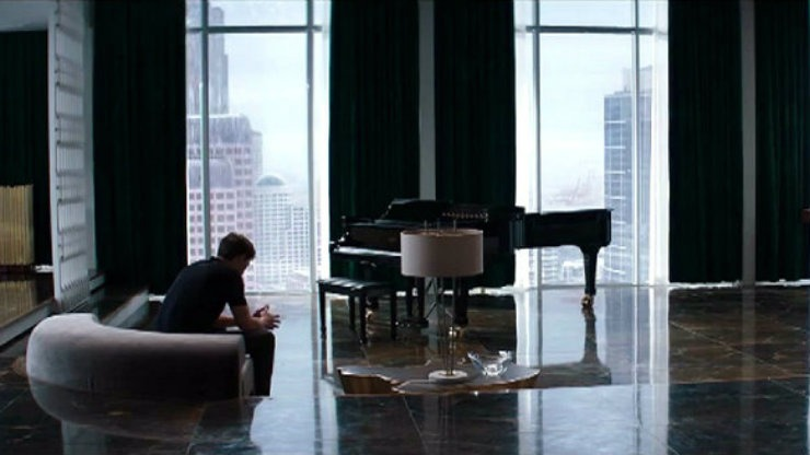 fifty-shades-of-grey-apartment  Best Interior Designers |50 Shades of Grey set designer C. Scott Baker fifty shades of grey apartment