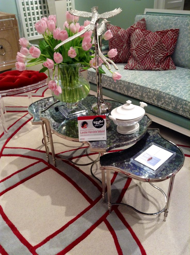 Fantastic table by Global Views  High Point Market 2015 – Most Fascinating Style Spotters' Choices Part 3 Leslie Hendrix Wood table global views