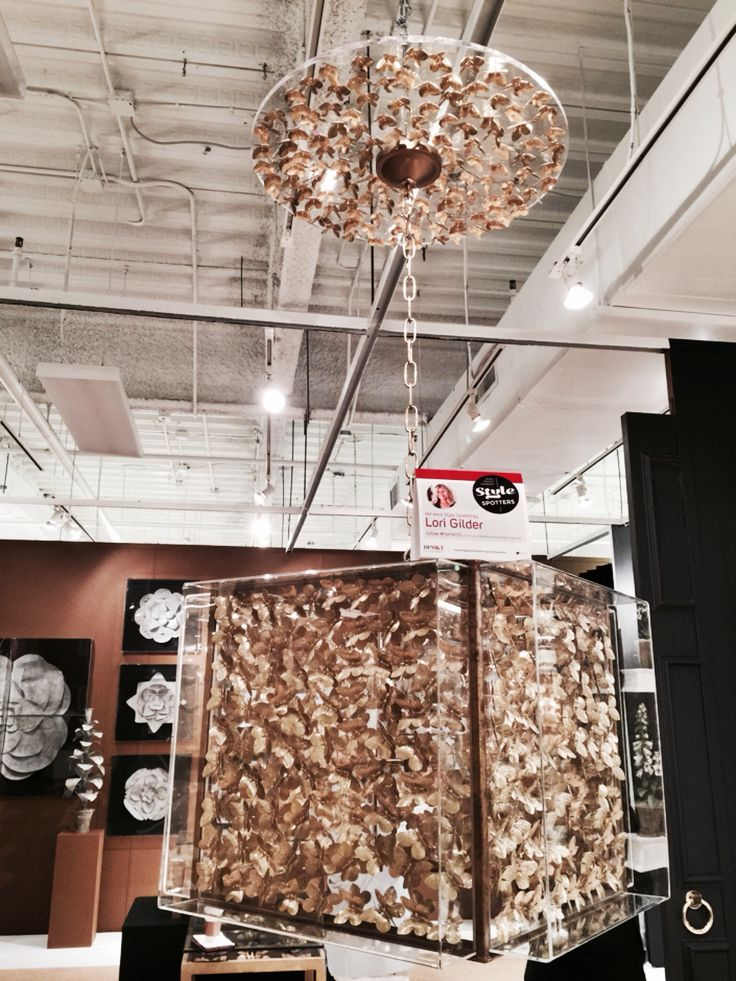 From TommyMitchellCo - a Gilded Butterfly chandelier with a stunning matching butterfly escutcheon.   High Point Market 2015 – Most Fascinating Style Spotters' Choices Part 2 Lori Gilder chandelier