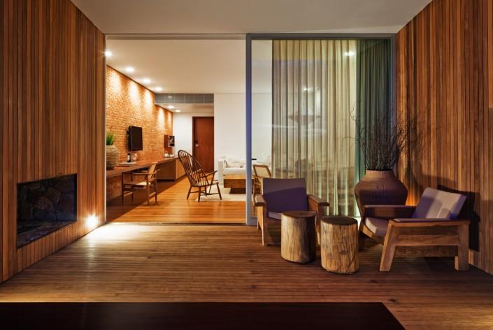 7. hotel fasano boa vista_suite, terrace  Fasano Boa Vista Hotel by Isay Weinfeld 7
