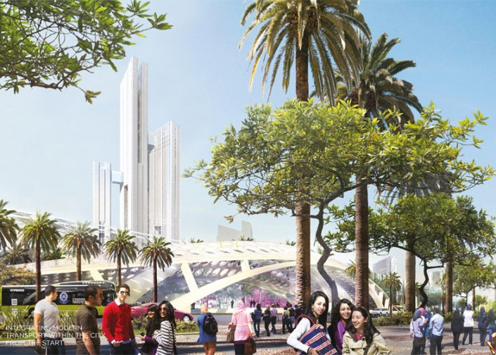 SOM - Capital Cairo Project  SOM - Capital Cairo Project Cairo by SOM dezeen 784 9 e1432131760808