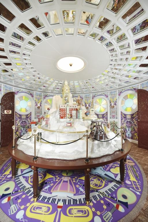 """chambers of wonders""  Best Belgian Interior Design Projects Swarovski Kristallwelten 2015 Studio Job Wunderkammer"
