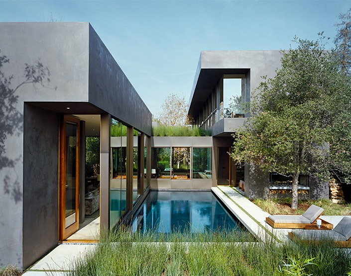 Vienna Way House, California by Marmol Radziner Associates-2  Vienna Way House, California by Marmol Radziner Associates Vienna Way House California by Marmol Radziner Associates 2