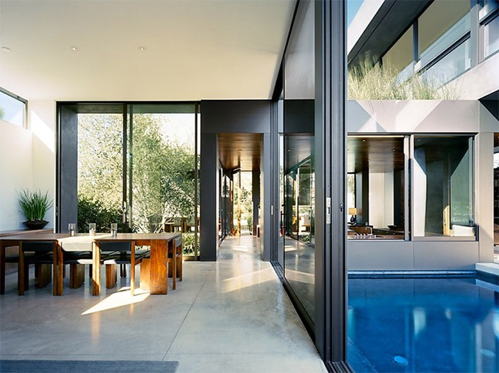 Vienna Way House, California by Marmol Radziner Associates-3  Vienna Way House, California by Marmol Radziner Associates Vienna Way House California by Marmol Radziner Associates 3