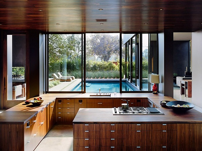 Vienna Way House, California by Marmol Radziner Associates-5  Vienna Way House, California by Marmol Radziner Associates Vienna Way House California by Marmol Radziner Associates 5