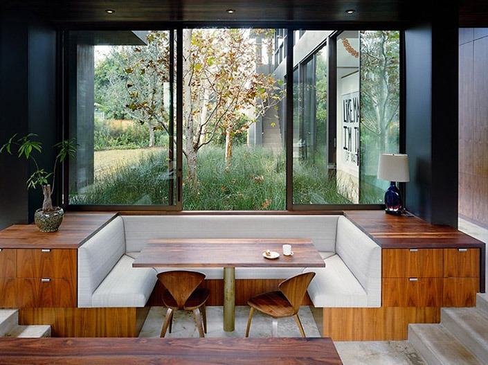 Vienna Way House, California by Marmol Radziner Associates-6  Vienna Way House, California by Marmol Radziner Associates Vienna Way House California by Marmol Radziner Associates 6