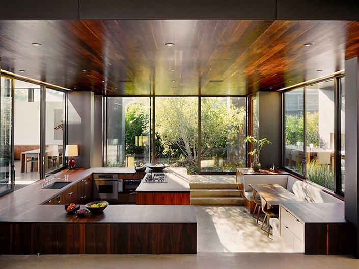 Vienna Way House, California by Marmol Radziner Associates-7  Vienna Way House, California by Marmol Radziner Associates Vienna Way House California by Marmol Radziner Associates 7